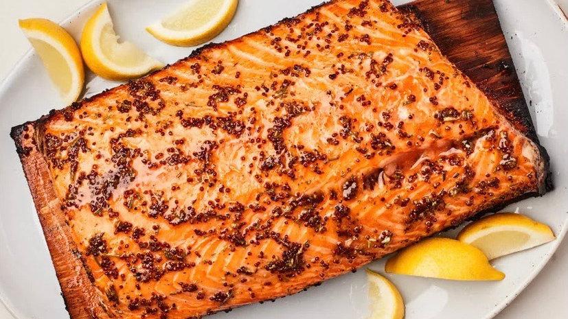 Cedar Plank Salmon Rub