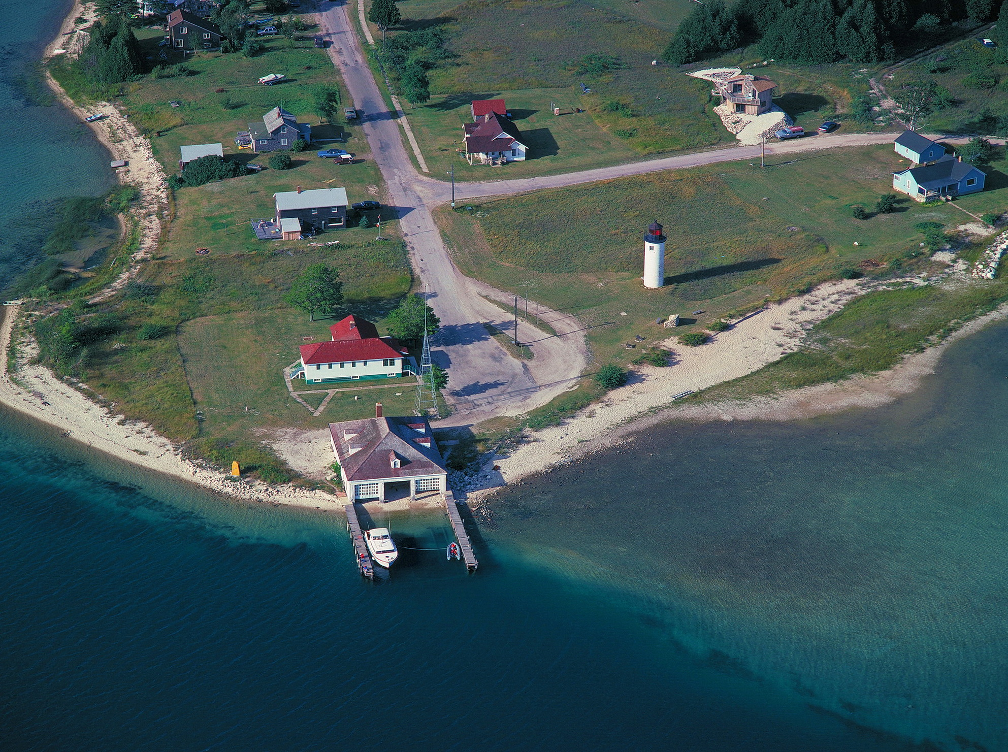 Beaver Island, St. James Harbor Light