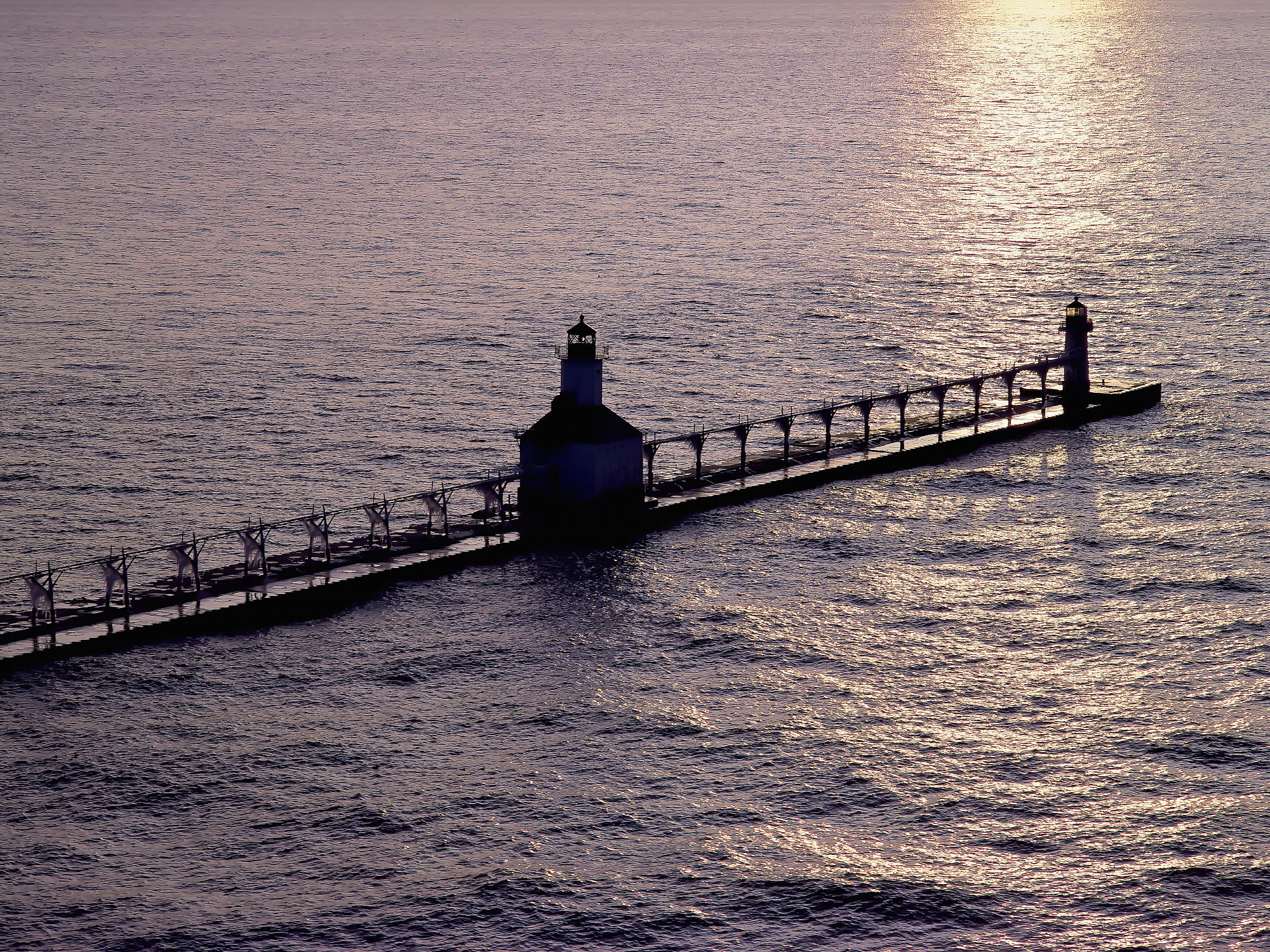 St. Joseph Inner & Outer Pier Lights