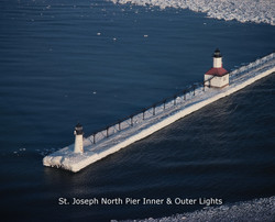 St. Joseph North Pier Inner & Outer Lights