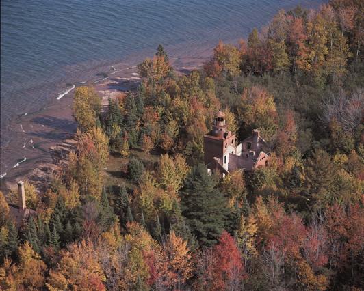 Fourteen Mile Point Lighthouse
