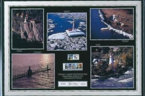 United States Postal Service Commemorative Stamps Print