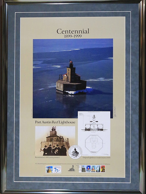 Port Austin Reef Lighthouse Centennial Poster