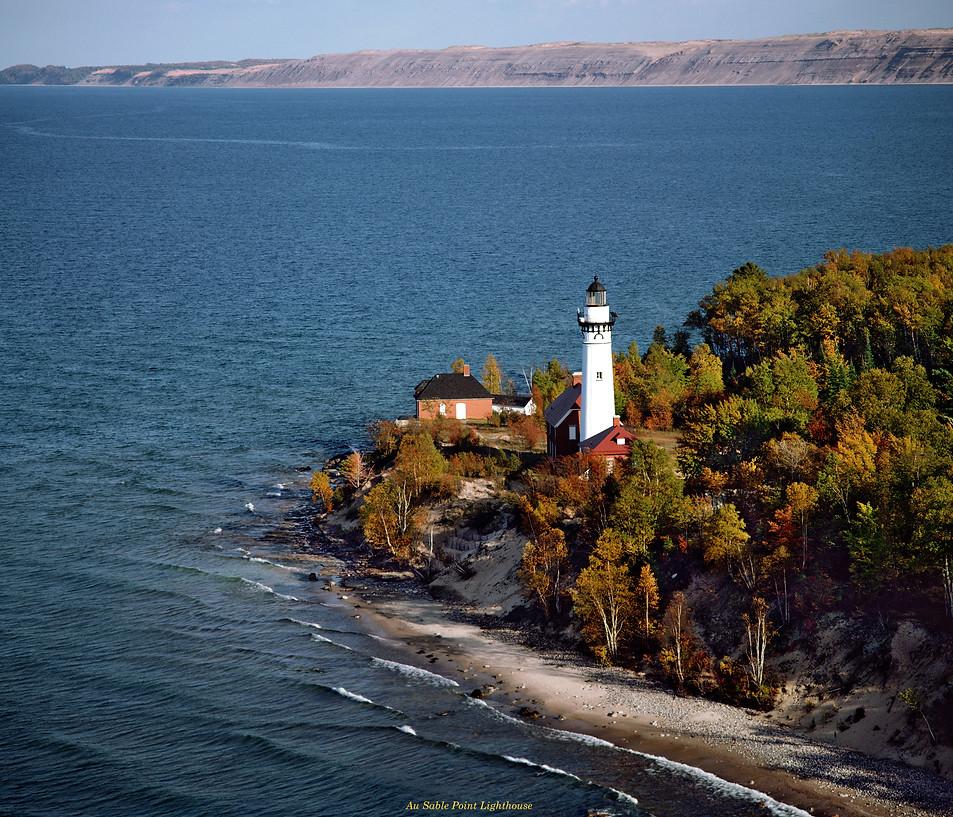 Au Sable Point Lighthouse - Lake Superior