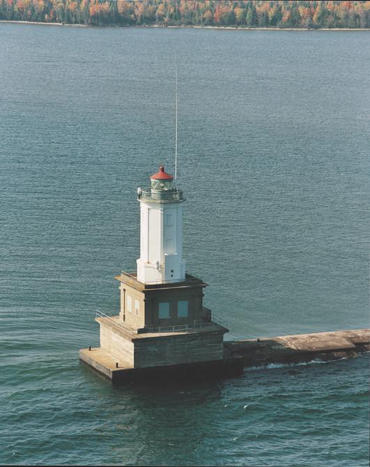 Pesque Isle Harbor Breakwater Light