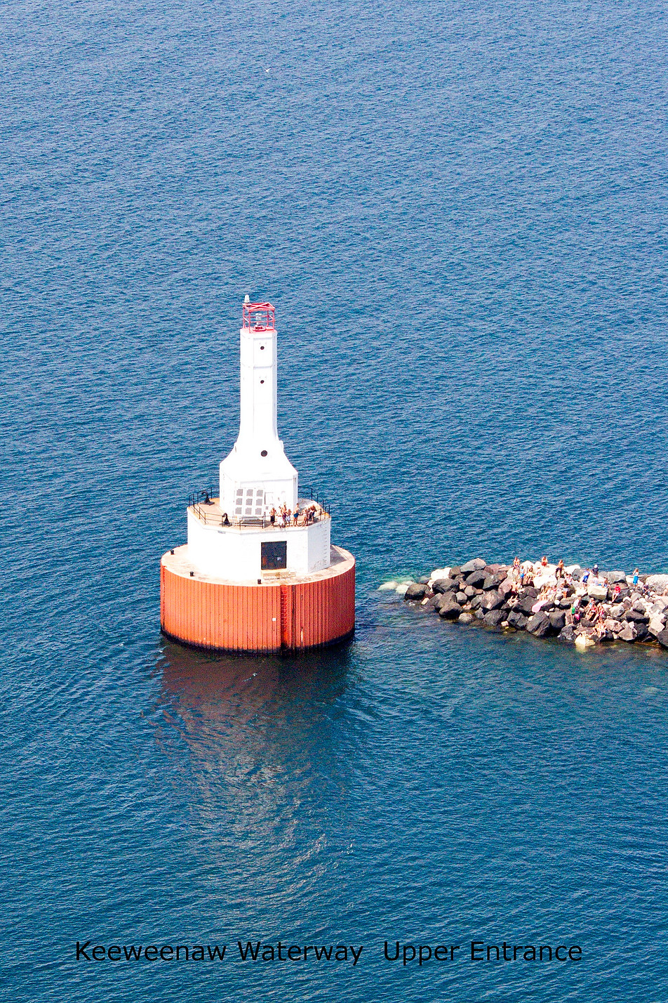 Keeweenaw Waterway Upper Entrance Lighthouse
