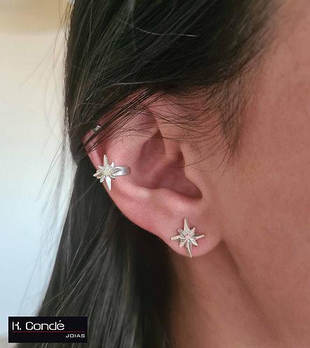 Piercing fake (de pressão) - Linha Estrela-Guia (LEG10)