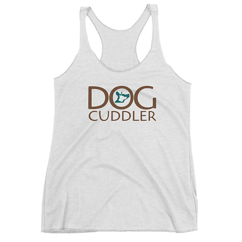 Dog Cuddler Women's Racerback Tank