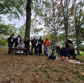 New York Tea Society hosting in Astoria Park