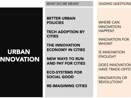Urban Innovation - is it more than a buzzword?