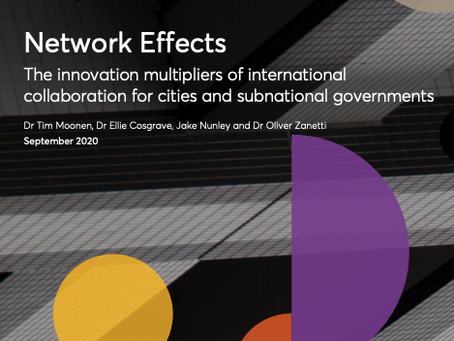 Network Effects: The innovation multipliers of international collaboration for cities