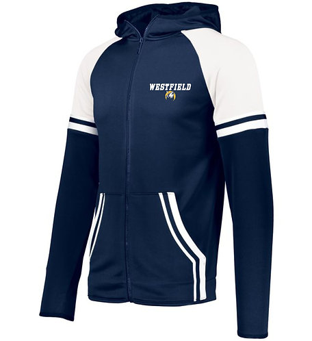 Full Zip Athletic Fleece Jacket.
