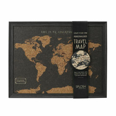 OUT OF STOCK Corkboard World Map with Pins £34.99