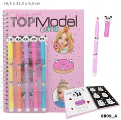 Top Model Candy Cake colouring book with felt pens £9.99