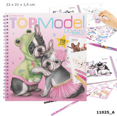 Top Model Doggy colouring book £7.99