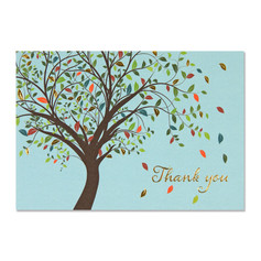 Peter Pauper Press Tree of Life Thank You Notes £8.50