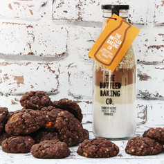 Chocotastic Chocolate Orange Bottled Cookie Mix £9.99