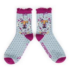 Alphabet Socks: 'T' £7.99