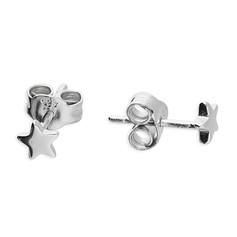 CME Tiny Silver Star Studs £7.99