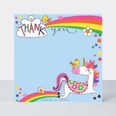 Rachel Ellen Unicorn Notecards £4.50