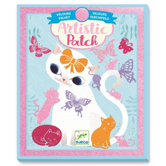 Low on stock -Djeco Artistic Patch Little Pets £10.99