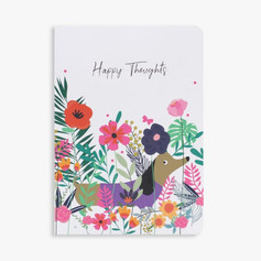 Button Designs Happy Thoughts Notebook £6.99