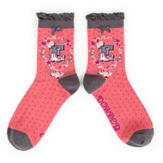 Alphabet Socks: 'E' £7.99