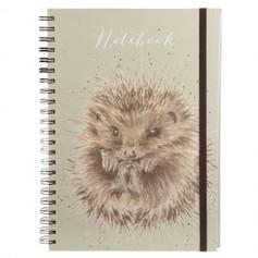 A4 Hedgehog Lined Notebook £9.99