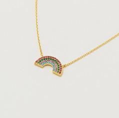 EB 'Believe in magic' Rainbow Necklace £25.99