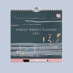 Family Week Planner £12.50, now reduced £7.50