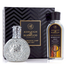 Ashleigh & Burwood Fragrance Lamp Gift Set (Silver) £37.99