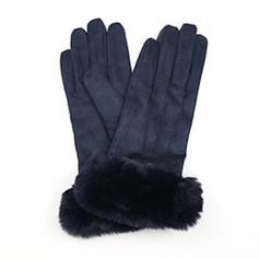 Navy Suede Gloves £12.99