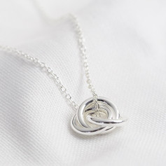Lisa Angel Triple Circle Necklace £14.99
