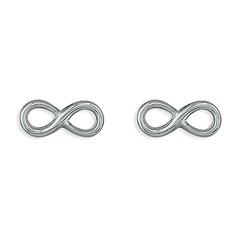 CME Plain Fine Infinity Studs £7.99