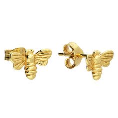 CME Bee Studs Gold £10.99