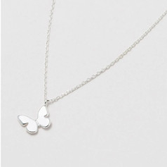 OUT OF STOCK EB 'You are capable of amazing things' Butterfly Necklace £18.99