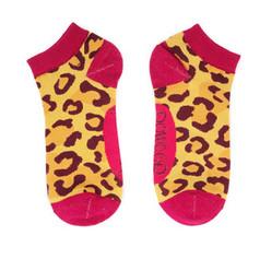 Powder Leopard Print Trainer Socks £6.99