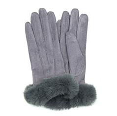 Grey Suede Gloves £12.99