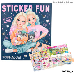 OUT OF STOCK Top Model Sticker Fun £4.99