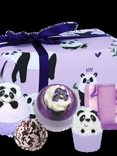 OUT OF STOCK Panda Bath Bomb Gift Set £14.99