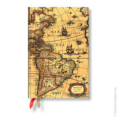 Paperblanks Map Small Week at a Time Diary now £7.79 reduced from £12.99