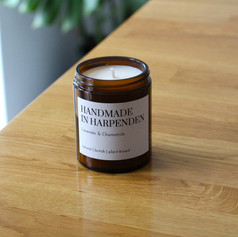 Handmade in Harpenden Lavender & Camomille Candle
