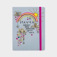 Rachel Ellen Designs Never Forget How Amazing You Are Notebook £8.99