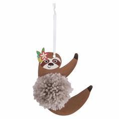 Sloth Pom Pom Kit £1.99