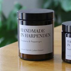 Handmade in Harpenden Raspberry & Peppercorn