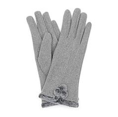 Grey Pom Pom Gloves £12.99