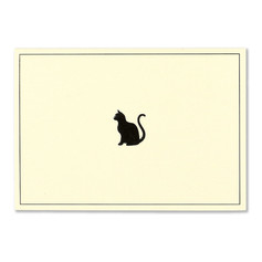 OUT OF STOCK Peter Pauper Press Black Cat Notecards £8.50