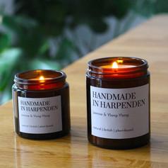 Handmade in Harpenden Jasmine & Ylang Ylang Candle