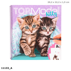 Top Model Kitty colouring book £7.99