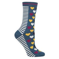 Teal Heart Socks £6.99